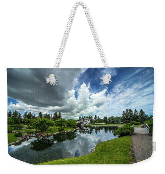 That Prairie Sky Weekender Tote Bag