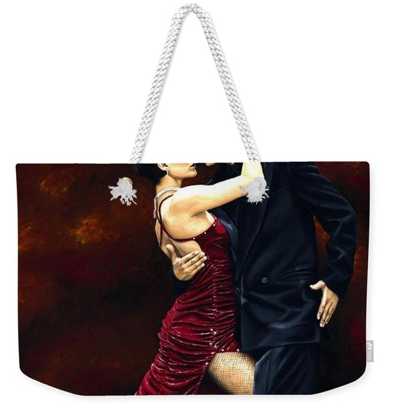 That Tango Moment Weekender Tote Bag