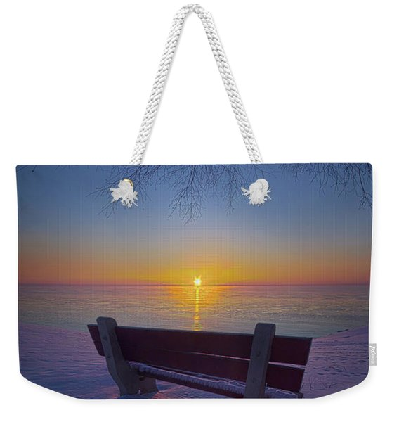 That Very First Moment Weekender Tote Bag