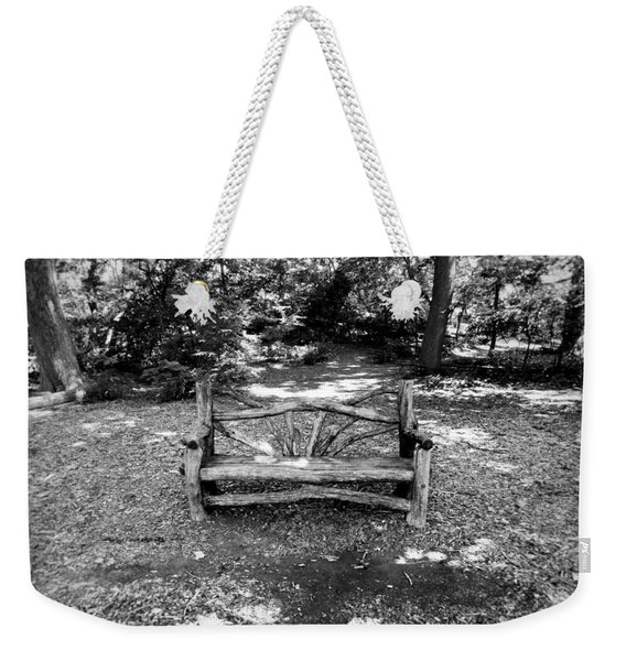 That Weird Bench One Weekender Tote Bag
