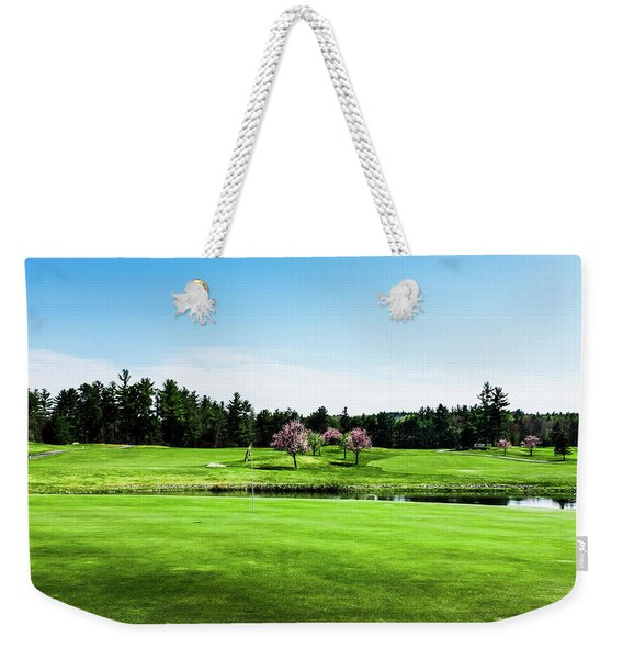 The 18th At Townsend Ridge Weekender Tote Bag
