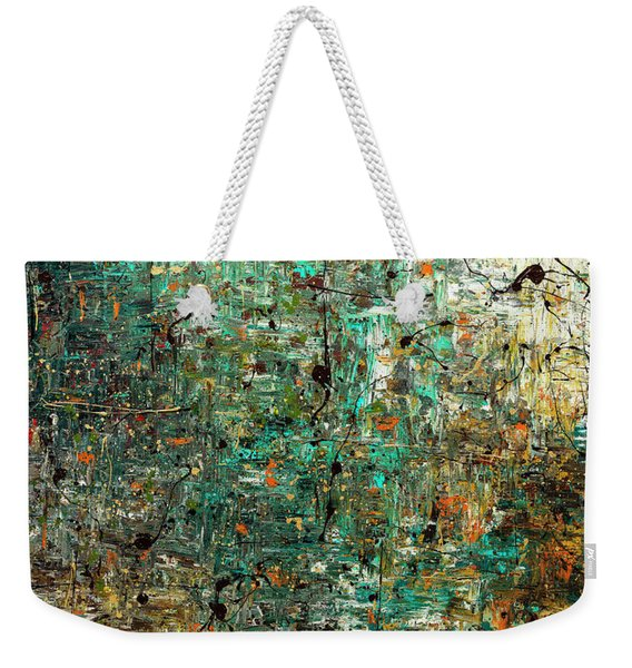 The Abstract Concept Weekender Tote Bag