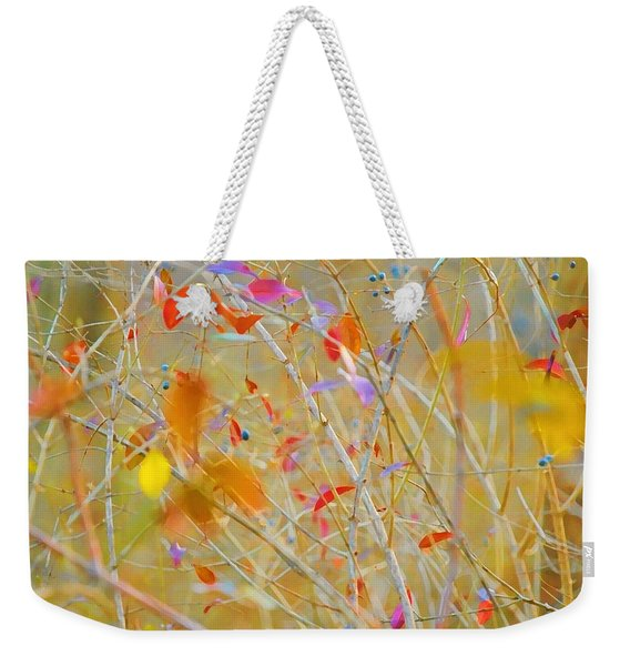 The Abstract Of Nature Weekender Tote Bag