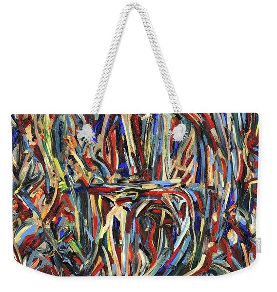 The Abyss Weekender Tote Bag