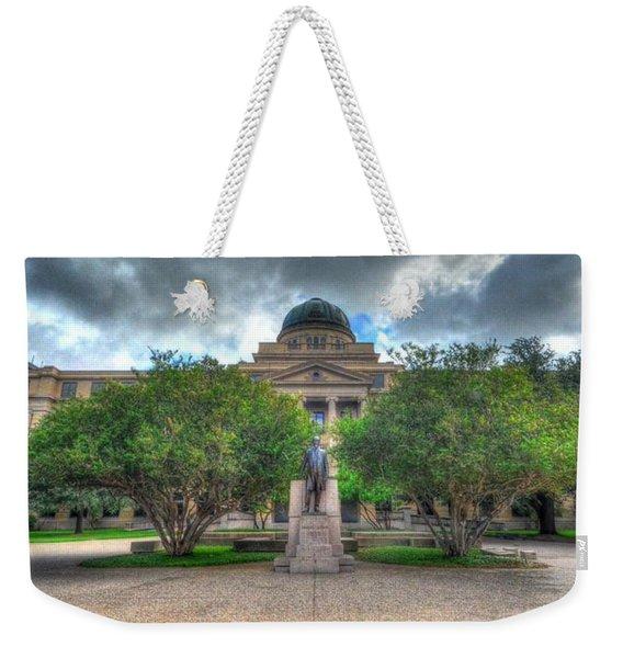 The Academic Building Weekender Tote Bag