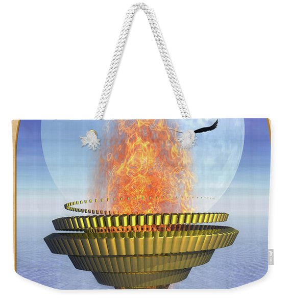 The Ace Of Cups Weekender Tote Bag