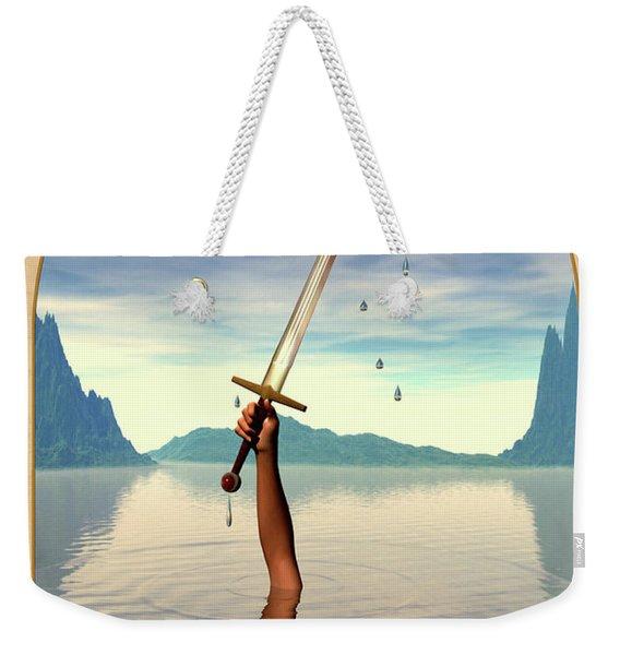 The Ace Of Swords Weekender Tote Bag