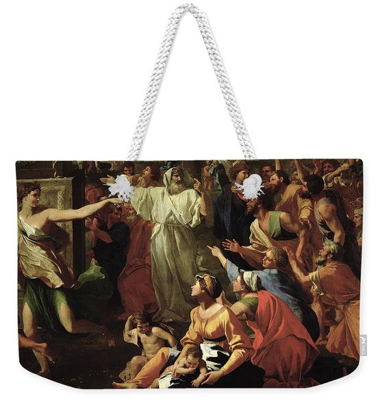 The Adoration Of The Golden Calf Weekender Tote Bag