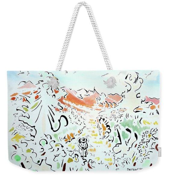 The Afternoon Walk Weekender Tote Bag