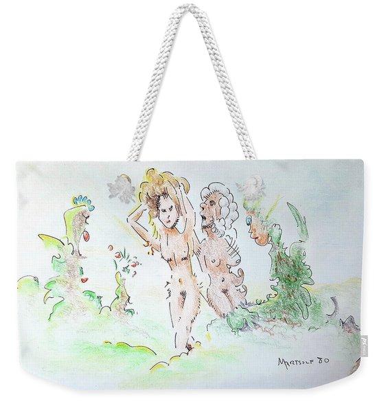 The Age Of Beauty Weekender Tote Bag