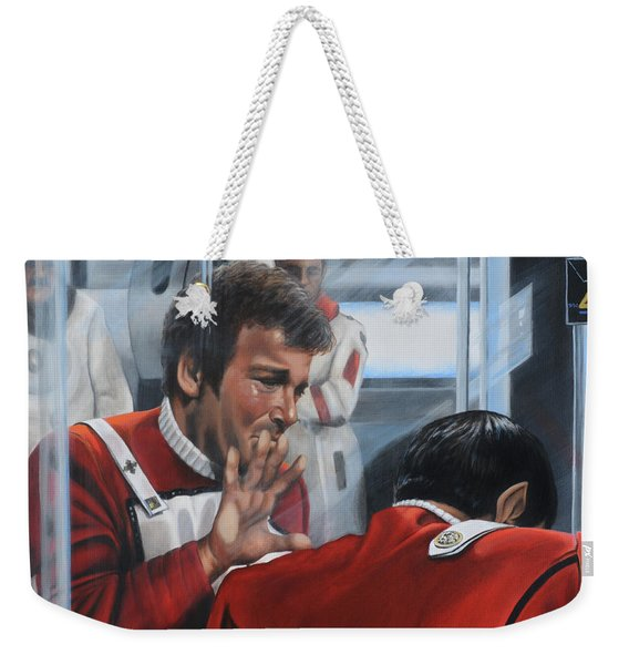The Agony Of Loss Weekender Tote Bag