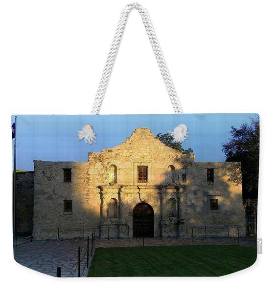 The Alamo At Dusk Weekender Tote Bag