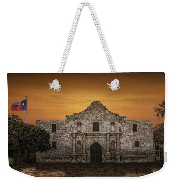 The Alamo Mission In San Antonio Weekender Tote Bag