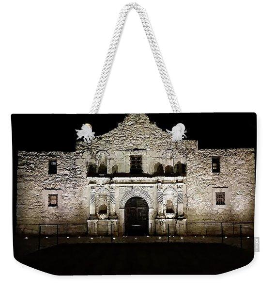 The Alamo On Halloween Weekender Tote Bag