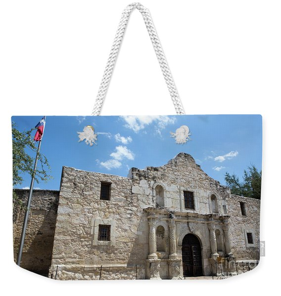 The Alamo Texas Weekender Tote Bag