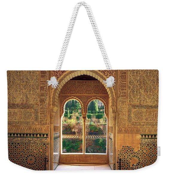 The Alhambra Torre De La Cautiva Weekender Tote Bag