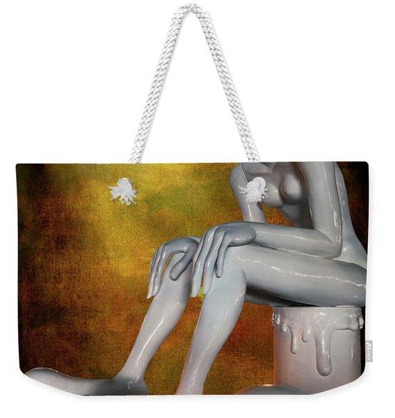 The Alien Weekender Tote Bag