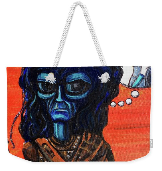 The Alien Braveheart Weekender Tote Bag