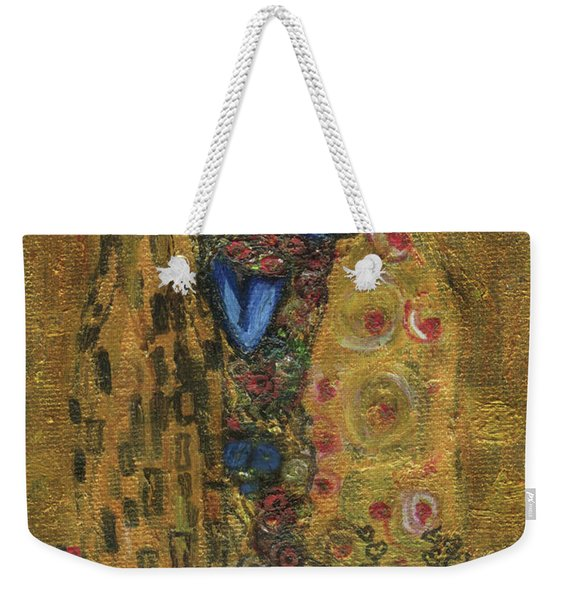 The Alien Kiss By Blastoff Klimt Weekender Tote Bag