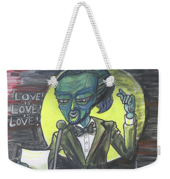 The Alien Lin-manuel Miranda Weekender Tote Bag