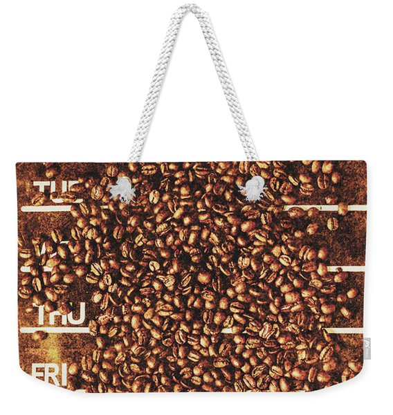 The All Week Coffee Break Weekender Tote Bag