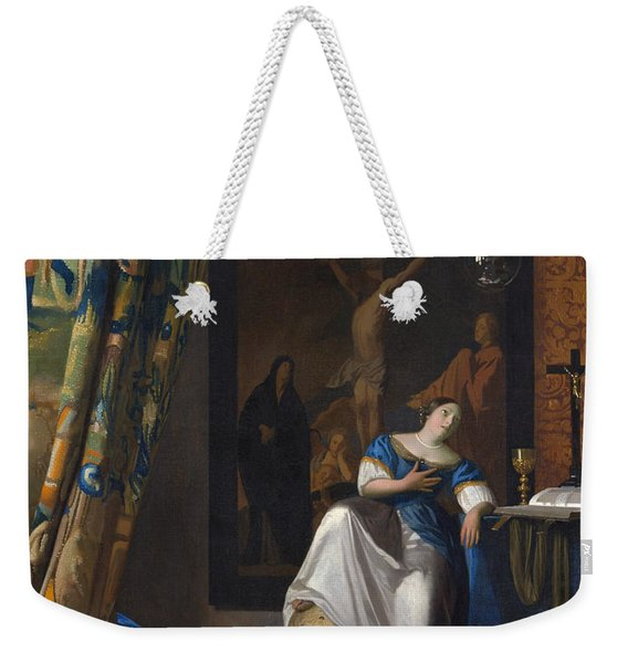 The Allegory Of The Faith Weekender Tote Bag
