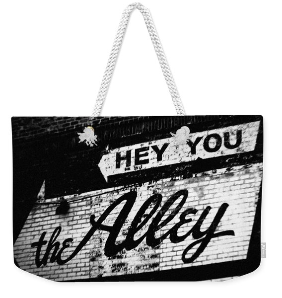 The Alley Chicago Weekender Tote Bag