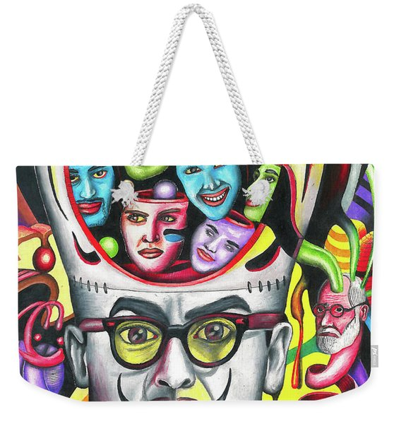 The Alluring Web Of Radical Thought Weekender Tote Bag