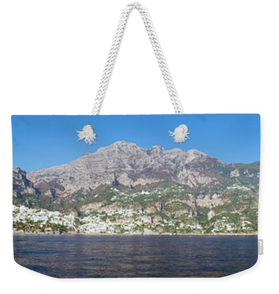 The Amalfi Coast - Panorama Weekender Tote Bag