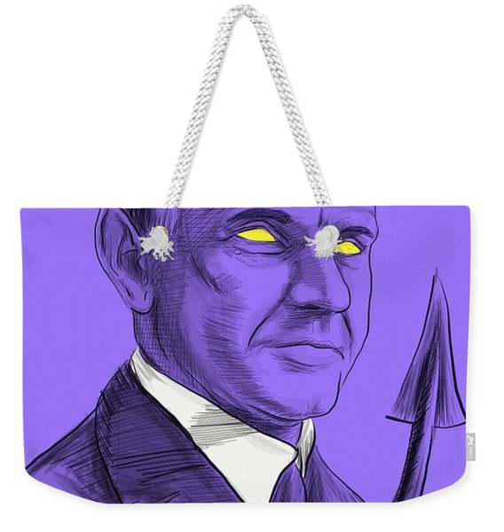 The Amazing Coolidge Weekender Tote Bag