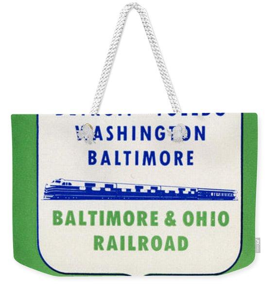 The Ambassador Weekender Tote Bag