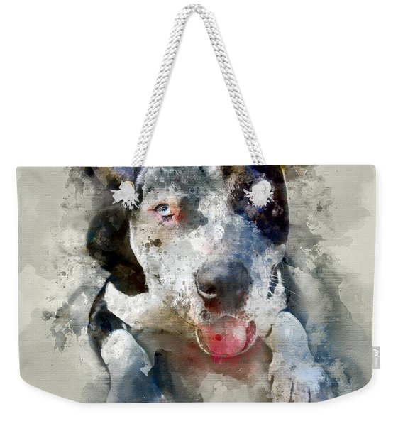 The American Pitbull Weekender Tote Bag