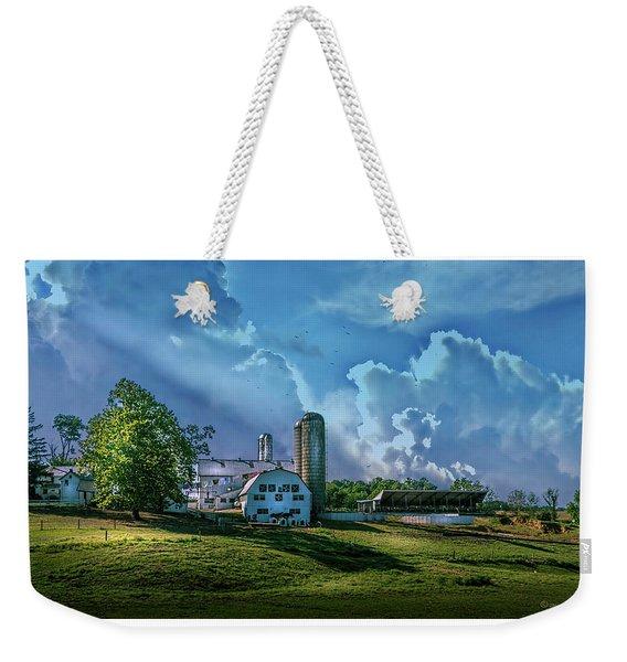 The Amish Farm Weekender Tote Bag