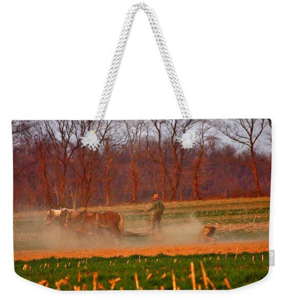 The Amish Way Weekender Tote Bag
