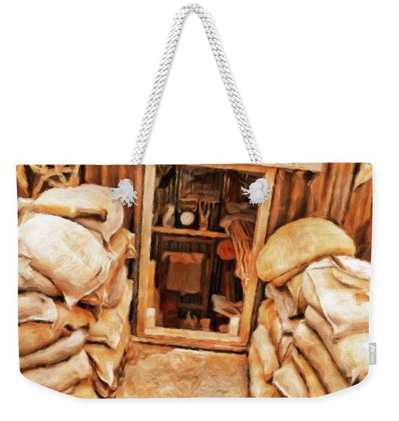 The Anderson Shelter By Sarah Kirk Weekender Tote Bag
