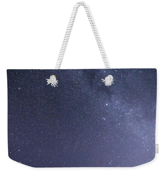 The Angel And The Milky Way Weekender Tote Bag