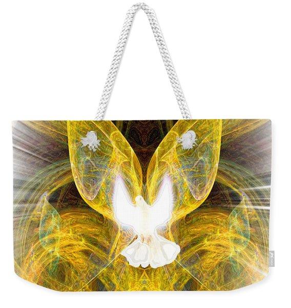 The Angel Of Forgiveness Weekender Tote Bag