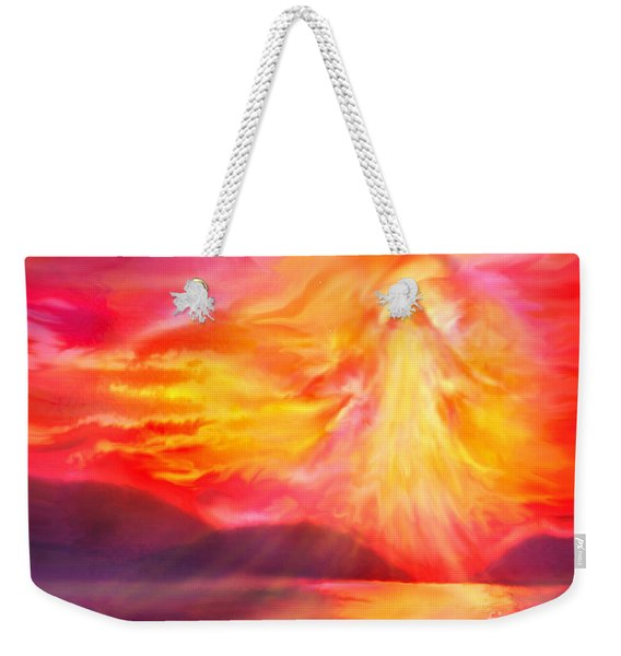 The Angel Of Protection Weekender Tote Bag