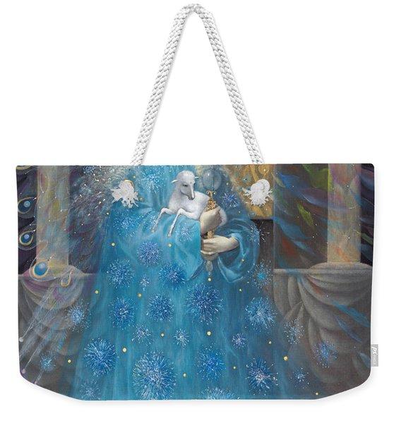 The Angel Of Truth Weekender Tote Bag