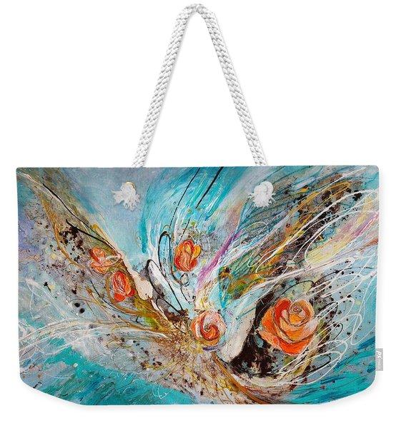 The Angel Wings #10. The Five Roses Weekender Tote Bag