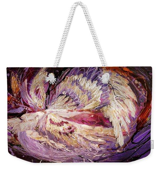 The Angel Wings #8 The Dance Of Spirit Weekender Tote Bag