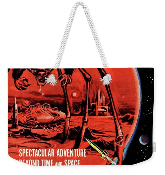 The Angry Red Planet, Sci Fi Horror Movie Poster Weekender Tote Bag
