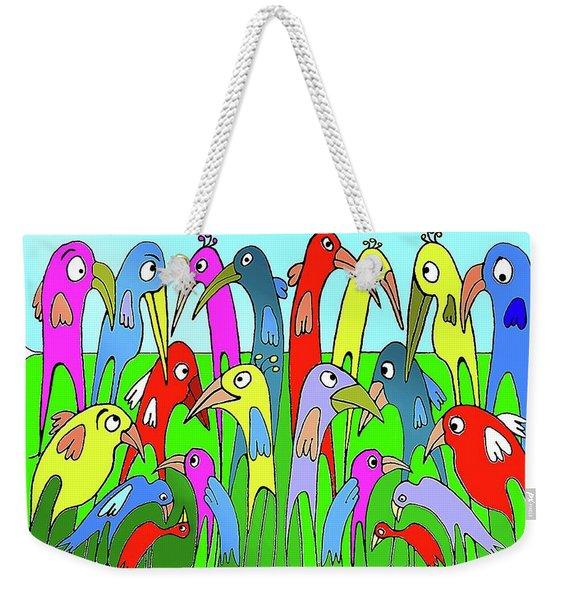 The  Annual General Meeting Weekender Tote Bag