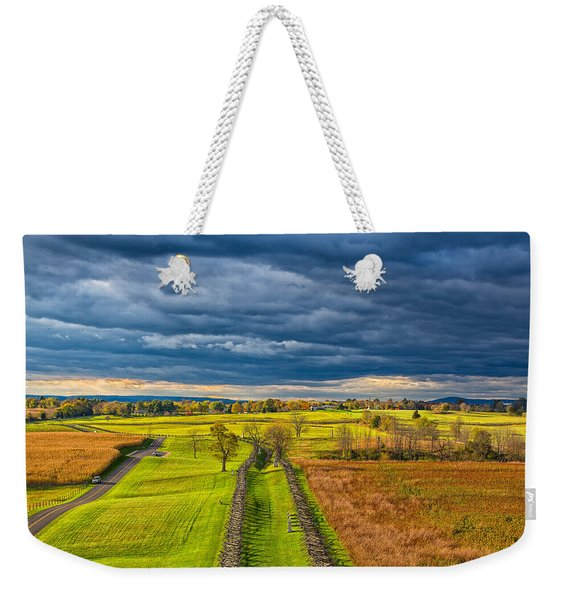 The Antietam Battlefield Weekender Tote Bag