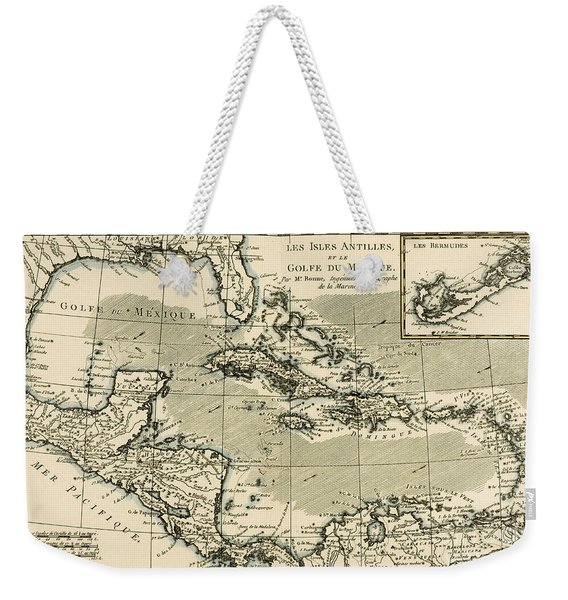 The Antilles And The Gulf Of Mexico Weekender Tote Bag