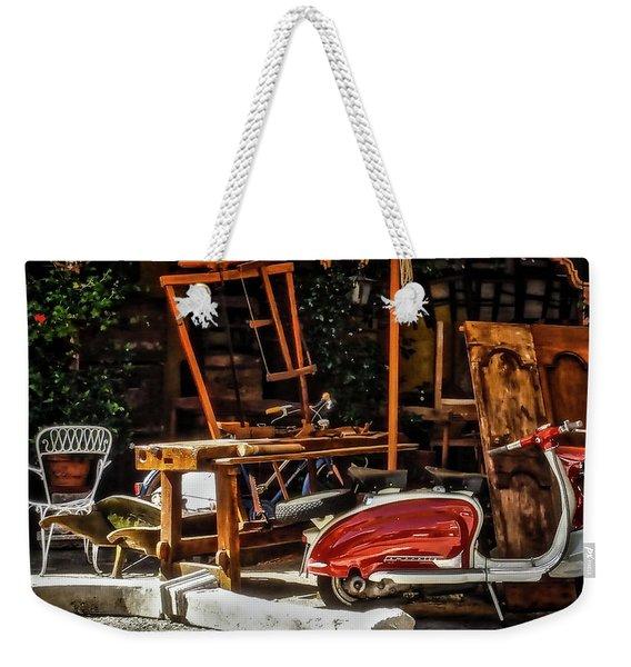 The Antiquarian Weekender Tote Bag