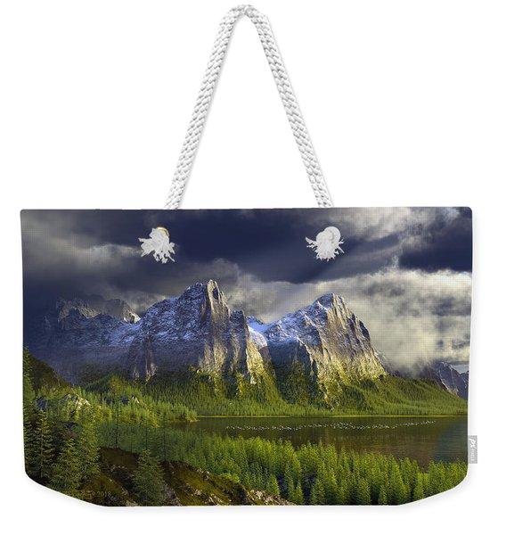 The Anvils Of Thor Weekender Tote Bag
