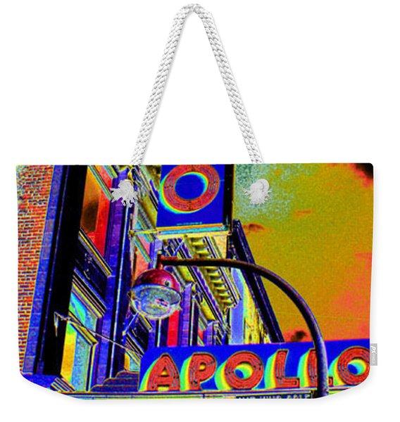 The Apollo Weekender Tote Bag
