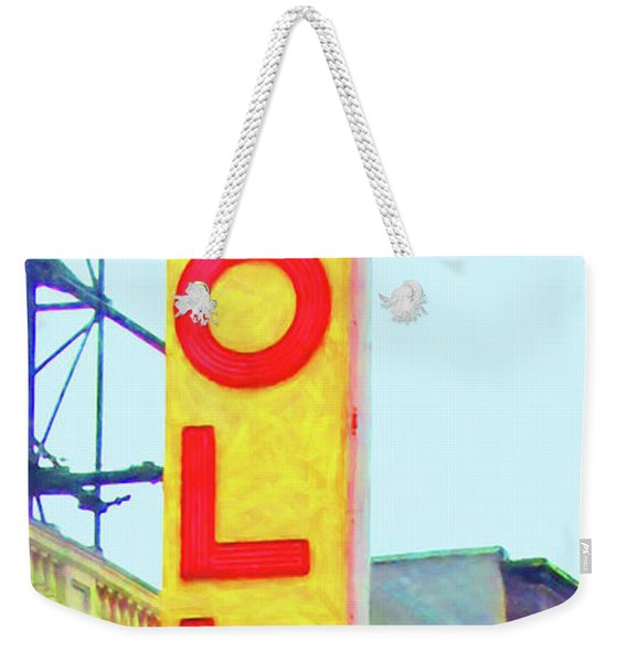 The Apollo Theater In Harlem Neighborhood Of Manhattan New York City 20180501v2 Weekender Tote Bag