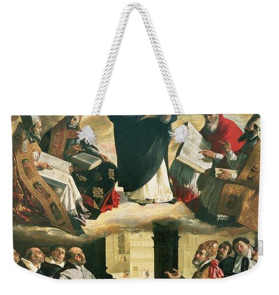 The Apotheosis Of Saint Thomas Aquinas Weekender Tote Bag
